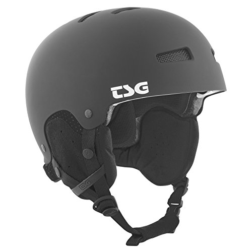 TSG Snowboardhelm Gravity Solid Color, flat black, S/M, 750089