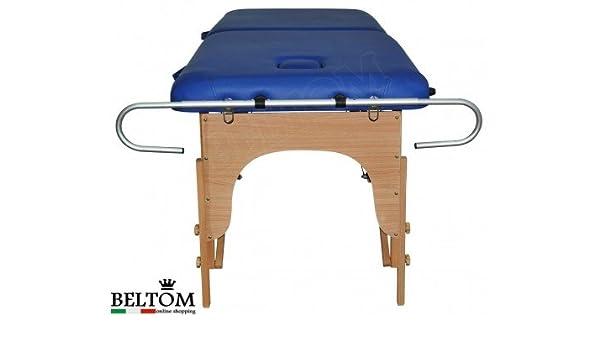 Beltom Soporte Portarrollo de Aluminio para Camilla De Masaje Mesa Cama Banco masajista: Amazon.es: Hogar