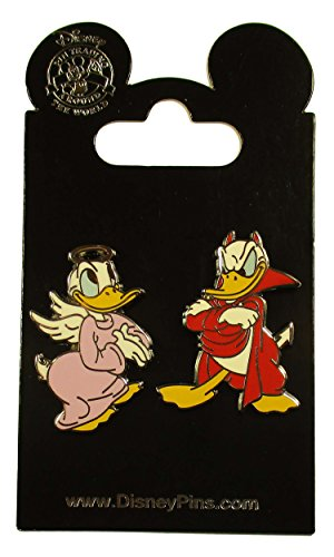 Disney Pin - Donald Good / Bad Conscience - 2-pin set