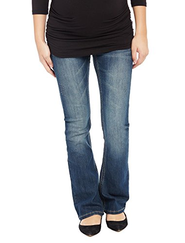 Motherhood Secret Fit Belly Stitched Pocket Boot Cut Maternity Jeans