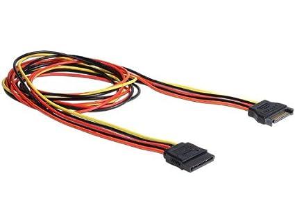 DeLock Kabel Power SATA 15 Pin Stecker  SATA 15 Pin Buchse Verl/Ã/¤ngerung 30 cm