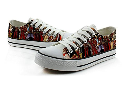 Une Pièce Luffy Chopper Cosplay Chaussures Toile Chaussures Sneakers Coloré Low Cut 1 Photo 2