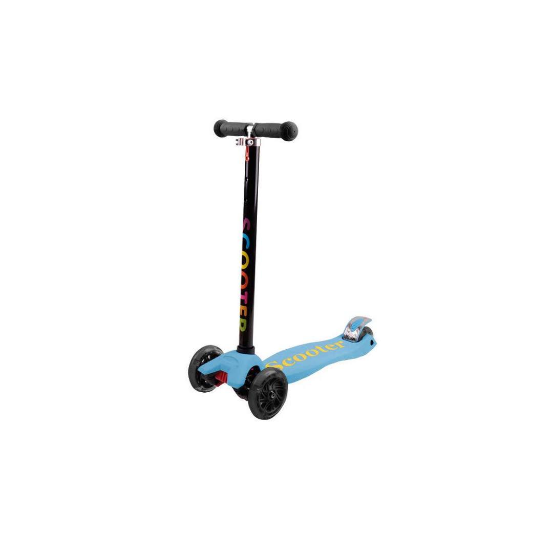【完売】  TLMYDD 子供のスクーター子供四輪フラッシュスライド玩具シリコーンスクーター、15 x 57 x x 89 89 cm 子供スクーター 青 (色 : 青) B07NRTGYYF 青, クセグン:65f0c23f --- a0267596.xsph.ru