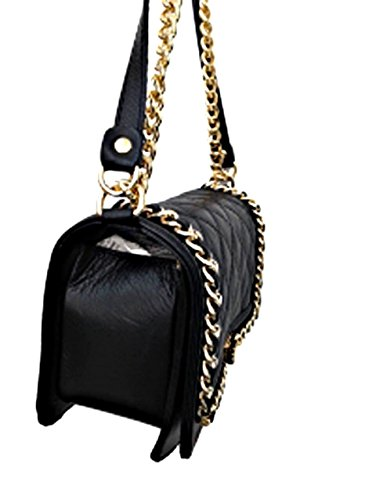 Unknown - Borsa a tracolla Donna Black