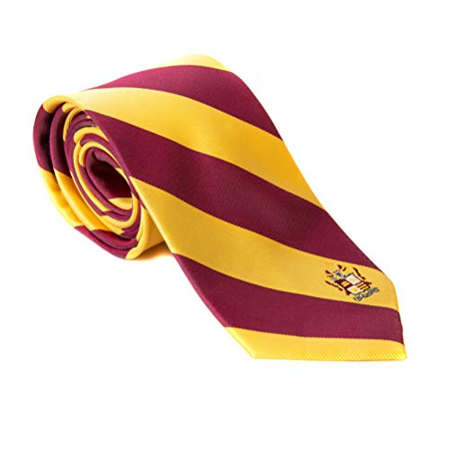 Phi Kappa Theta Fraternity Necktie Tie Greek Formal Occasion Standard Length Width (Striped Crest ()