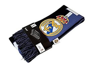 Real Madrid C.F. Authentic Official Licensed Product Soccer Scarf