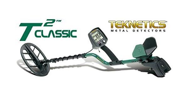 Detector de metales Teknetics T2 Classic placa 11 DD metaldetector Oro Monedas: Amazon.es: Deportes y aire libre