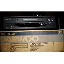 Daewoo DV5DN 4 Head VCR Video Tape Player + Recorder