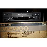 Daewoo DV-T5DN 4 Head VCR Video Tape Player + Recorder