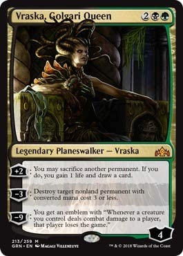- Return to Ravnica by Magic: the Gathering Vraska the Unseen Magic: the Gathering 208