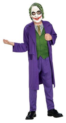 [Batman The Dark Knight, The Joker Child's Costume, Medium] (Halloween Costumes The Joker)