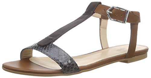 Hugo Verine 10188084 01, Sandali Donna Grigio (Grau (Dark Grey 024))
