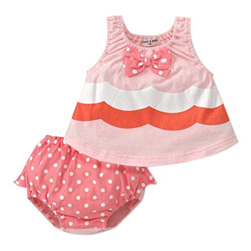 PanDaDa Sleeveless Shorts Bowknot Outfits