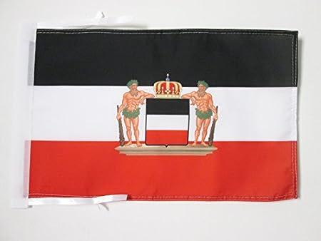 DEUTSCHEN BUNDES FAHNE  30 FLAGGE DEUTSCHER BUND 1815-1866 45x30cm mit kordel