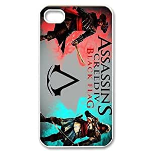 Discount Assassin's Creed TPU Back Cover Case for iphone 4/4S Phone Cases-4S4264 3825257M77624452