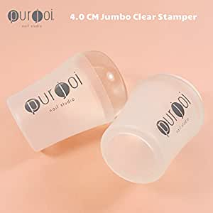Amazon.com : Nail Art Jumbo Clear Jelly Nail Clear Nail
