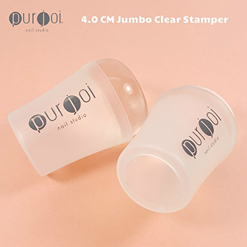 Galleon Nail Art Jumbo Clear Jelly Nail Clear Nail Stamping