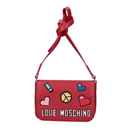 Love Moschino Pixel crossbody red