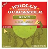 WHOLLY GUACAMOLE SPICY 8 OZ PACK OF 3