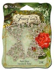 UPC 766435219393, Blue Moon Beads ZF-001-21939 Fairy Tale Silver Fancy Filigree Clasps