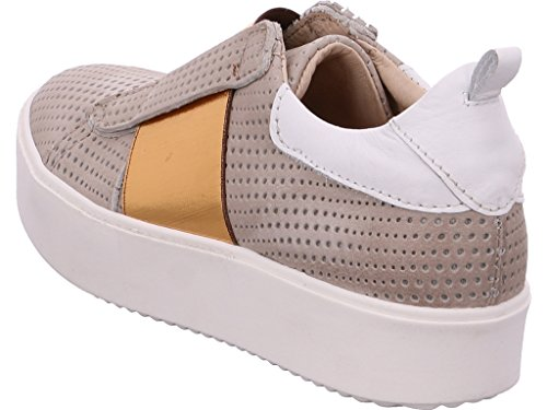 Mjus | Slipper | Slip-On - grau | kupfer Beige