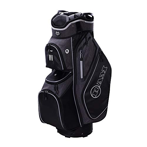 Ram Golf Tour Trolley Bag with 14 Way Dividers Top