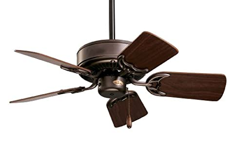 Emerson Ceiling Fans CF702ORB Northwind Indoor Ceiling Fan, 29-Inch Blades, Light Kit Adaptable, Oil Rubbed Bronze - Emerson Indoor Fans
