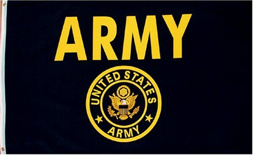 Cheap  US Army Flag 3x5 NEW U S Military Gold w/ Crest Garden,..
