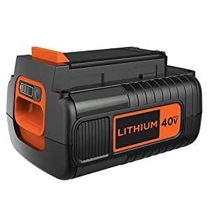 BLACK+DECKER LBX1540 40V 1.5 Ah Max Lithium Ion Battery