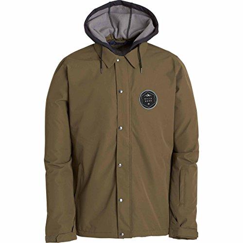 Billabong Men's Velocity Snowboard Jacket, Grape Leaf, S (Billabong Snow Jackets)