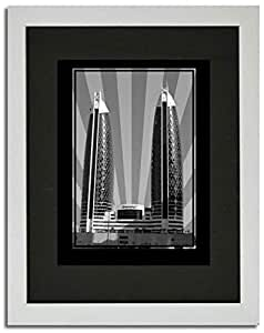 Photo of Damac Tower-Black And White No Text F02-NM (A5)