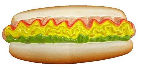 Latex Fast Food Design Dog Toy ()