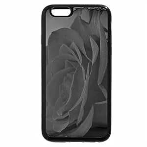 iPhone 6S Plus Case, iPhone 6 Plus Case (Black & White) - Flored Rose
