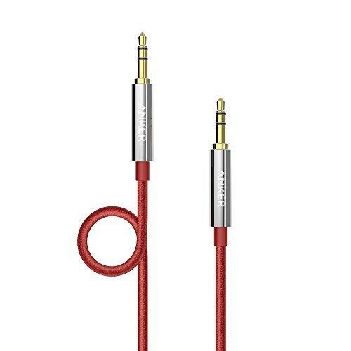 47 opinioni per Anker Cavo Audio Stereo Nylon Maschio su Maschio, AUX Anti-Groviglio per Cuffie,