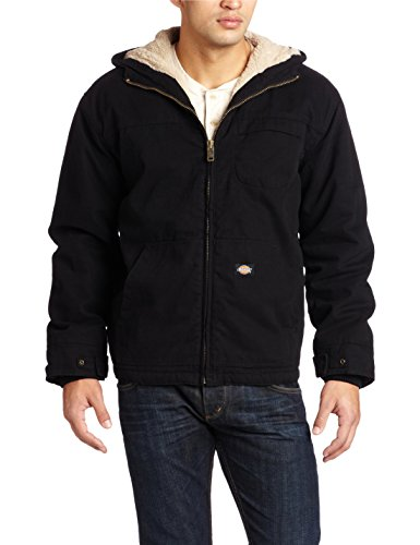 Lined Duck Hooded Jacket - 1