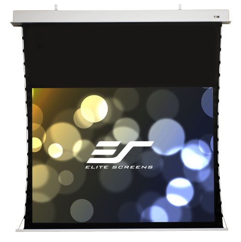 (Elite Screens Evanesce Tab-Tension, 84-inch 4:3, Tensioned In-Ceiling Projection Projector Screen, ITE84VW2-E30)