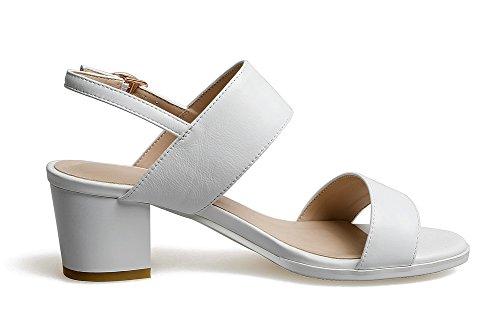 Sconosciuto White 35 Donna 1TO9 Ballerine Bianco EU S0UpSrqx