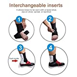 Tendon Support Ankle Brace Eases Swelling, Achilles