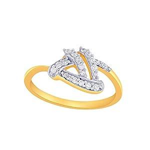Giantti Women's 14KT Diamond Ring - IGL Certified (0.173 Ct, I1 Clarity, GH-Colour)