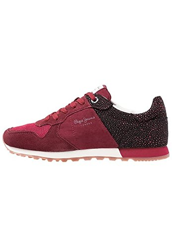W Red Verona bordeaux Baskets Flash R041xqp