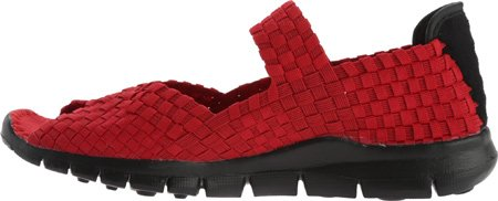Bernie Mev Womens Comfi Fabric And Synthetic Casual Comfort Flats Red qxEtc4uHy
