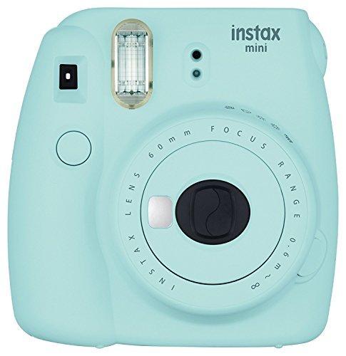 Fujifilm Instax Mini 9 Instant Camera - Ice Blue (Certified Refurbished)
