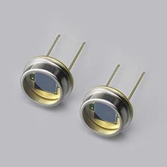 2pcs silicio fotodiodo 920 nm cerca de infrarrojos silicona fotocélula sensor óptico Detector de óptico paquete