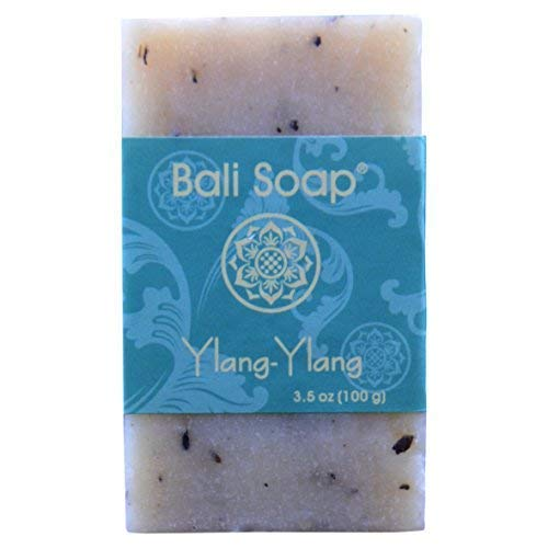 Bali Soap - Ylang-Ylang Natural Soap Bar, Face or Body Soap Best for All Skin Types, For Women, Men & Teens, Pack of 3, 3.5 Oz each ()