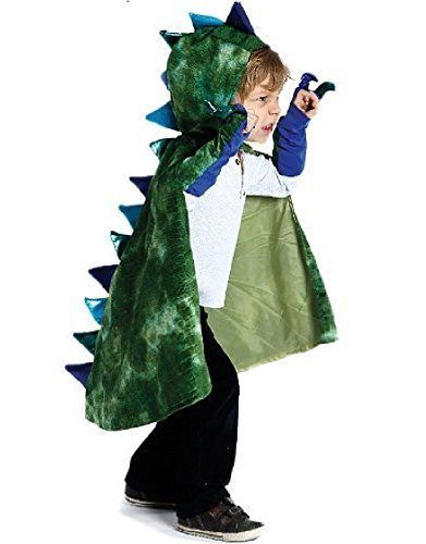 Great Pretenders Kids Medieval Dragon Cape and Claw Set -