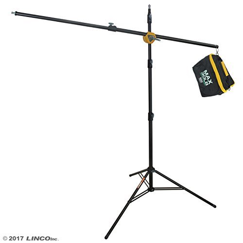Linco Lincostore Photography Studio Boom Arm Stand 8 feet with Sandbag Heavy Duty For Video, Strobe Flash Light Use, AM196 by Linco