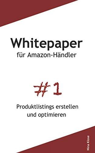 Whitepaper für Amazon-Händler: Produktlistings erstellen und optimieren