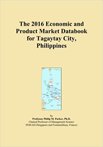 Book The 2016 Economic and Product Market Databook for Tagaytay City, Philippines