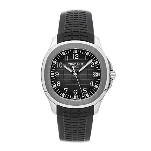Patek Philippe Aquanaut Mechanical (Automatic) Black Dial Mens Watch 5167A-001 (Certified Pre-Owned) (Patek Philippe Watches Nautilus Mens Stainless Steel)