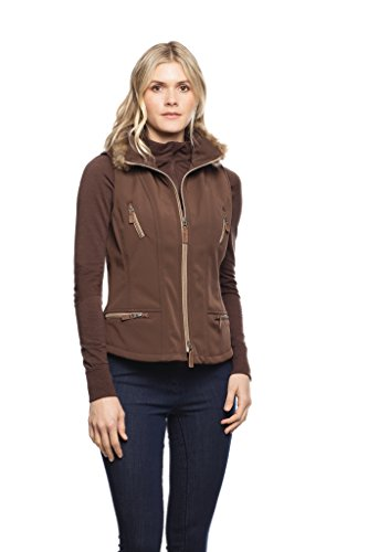 Goode Rider In Style Vest Cocoa L by Goode Rider